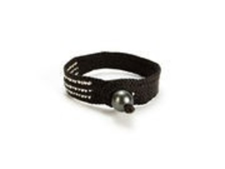 Ishi Daria 3 Silver Bracelet - Brown/Pearl