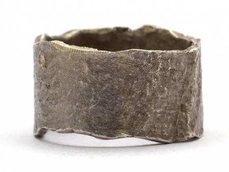 Alice Waese Bark Ring - Silver