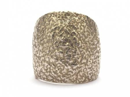 Alice Waese Cocoon Ring - Silver