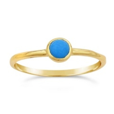 Ws House 14k Turquoise Ring