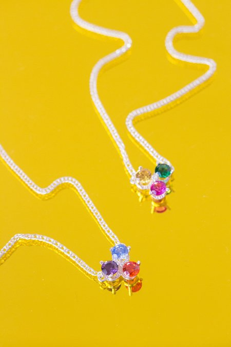 Tuza Tres Gotitas Necklace