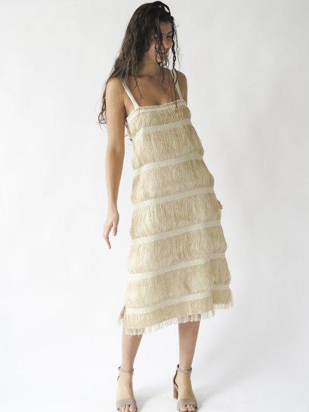 Erica Tanov Anaïs Dress - Gold