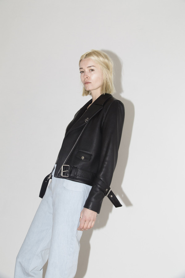 Sandy Liang Black Delancey Jacket