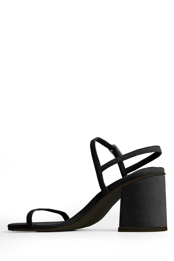 143d41483a961 Rafa Black Simple Sandals