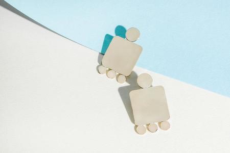 Cities In Dust Shield Earrings