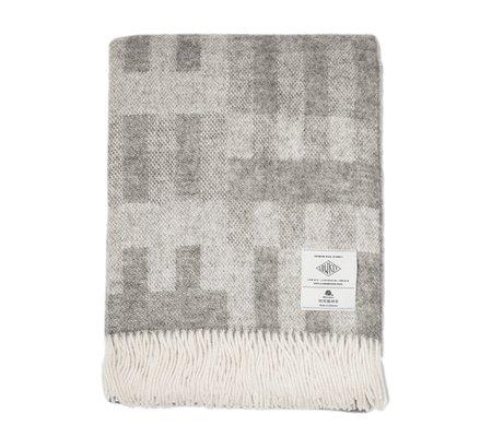 Low Key Goods Wool Blanket - Block Pattern