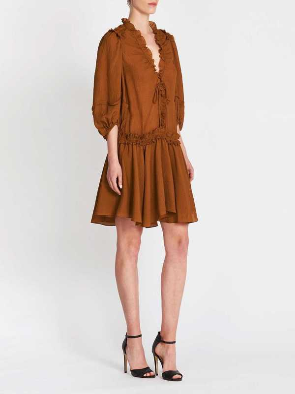 Camilla and Marc Lexie Dress - Tobacco