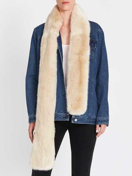J Brand Veronica Oversized Jacket - Blue