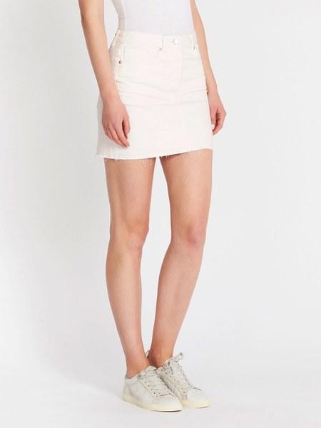 Camilla and Marc Alaine Tube Mini Skirt - Washed White