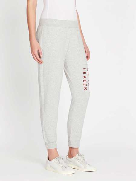 Zoe Karssen I Am Your Leader Slim Fit Sweatpants - Heather Grey