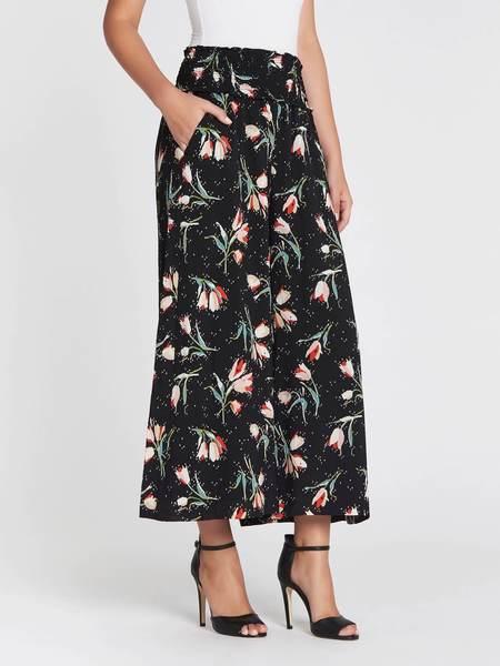 Rebecca Taylor Ikat Tulip Silk Pant - Floral