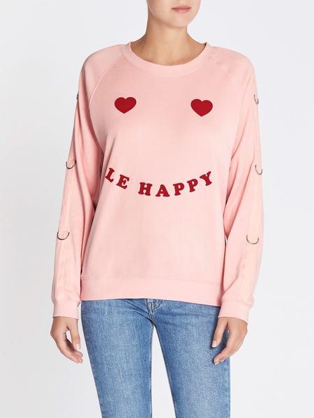 Zoe Karssen Le Happy Sweat - Pink