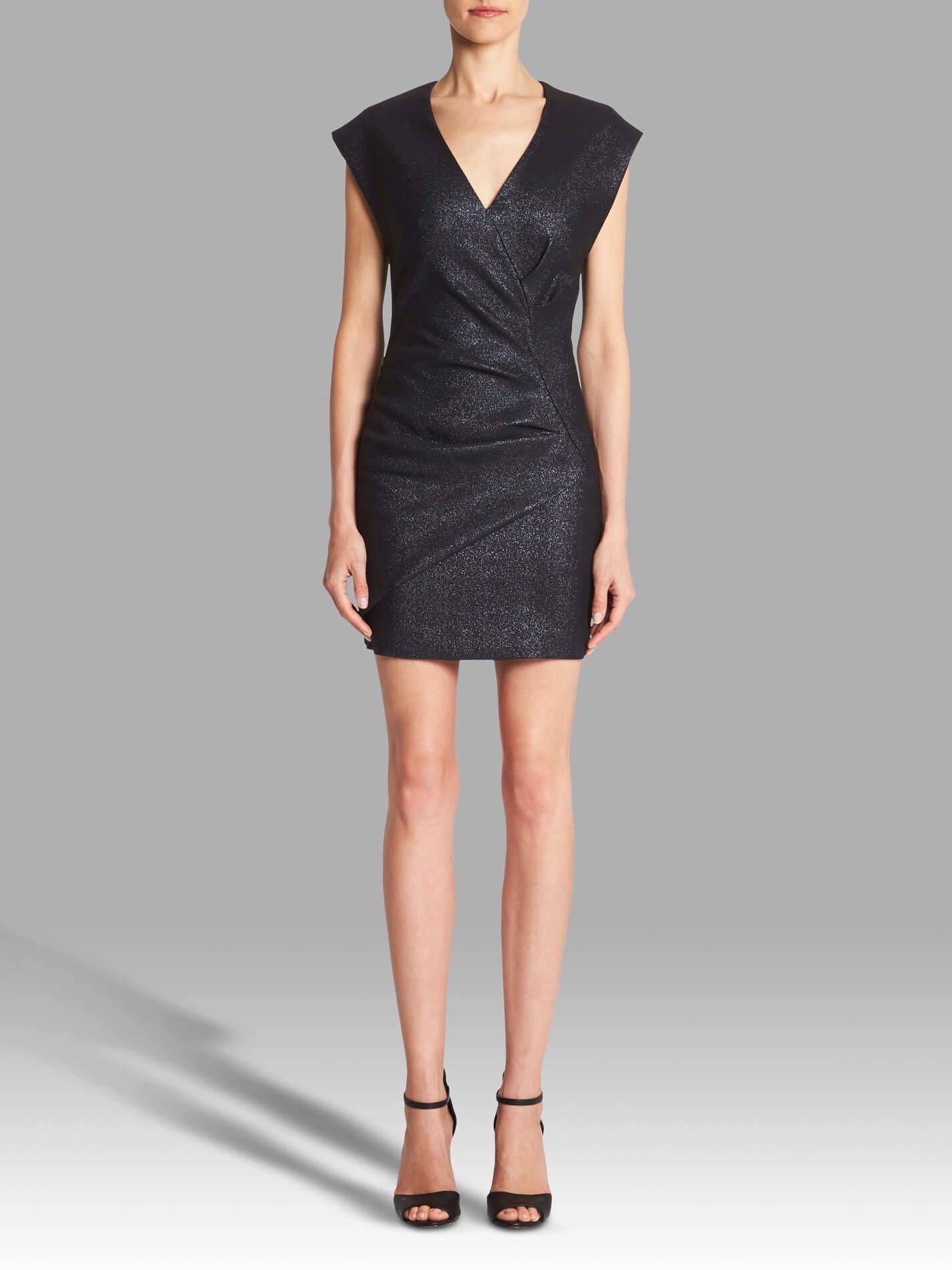 Iro Dresdi Dress Dark Navy Garmentory