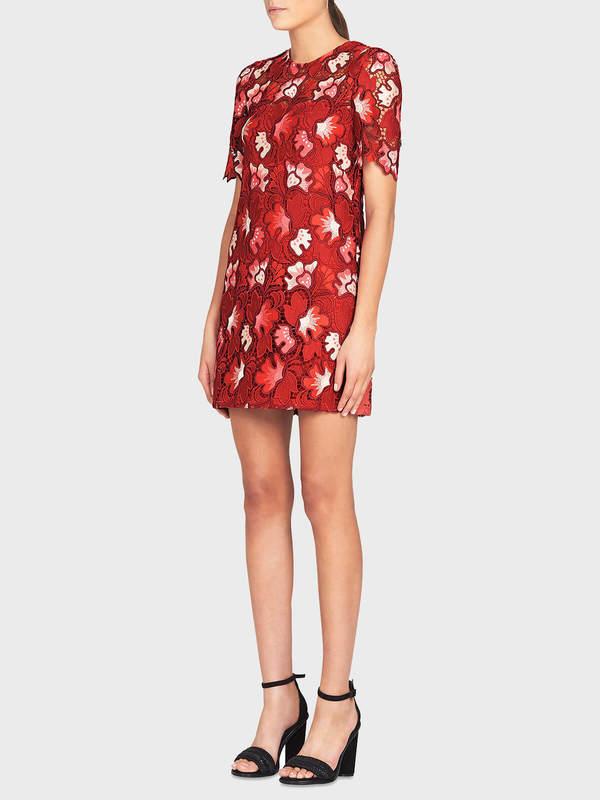 Camilla and Marc Aerie Mini Dress - Raspberry