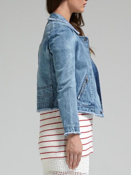 Rebecca Taylor Washed Denim Jacket