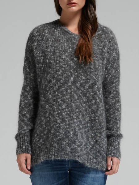 american vintage Ewing Sweater - GREY