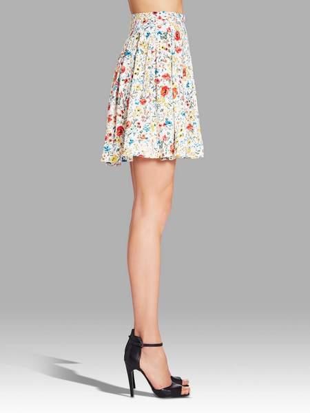 american vintage Doly City Skirt - FLORAL