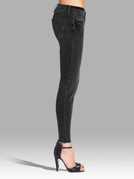 FRAME Denim Le Garcon Jeans - Fade To Grey