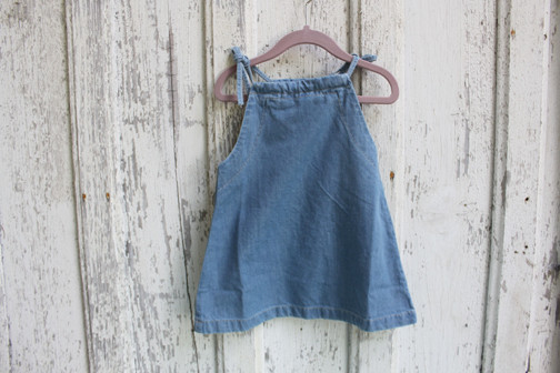 Kid's Popupshop: Denim Strap Dress