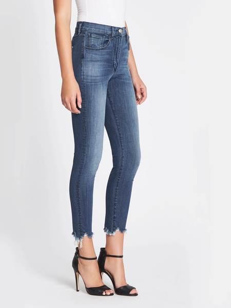 3x1 W3 Skinny Crop Jeans - Mid Denim