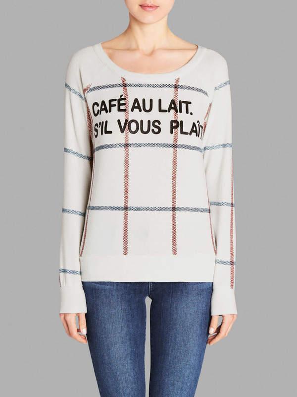 Chaser LA Cafe Au Lait Sweater