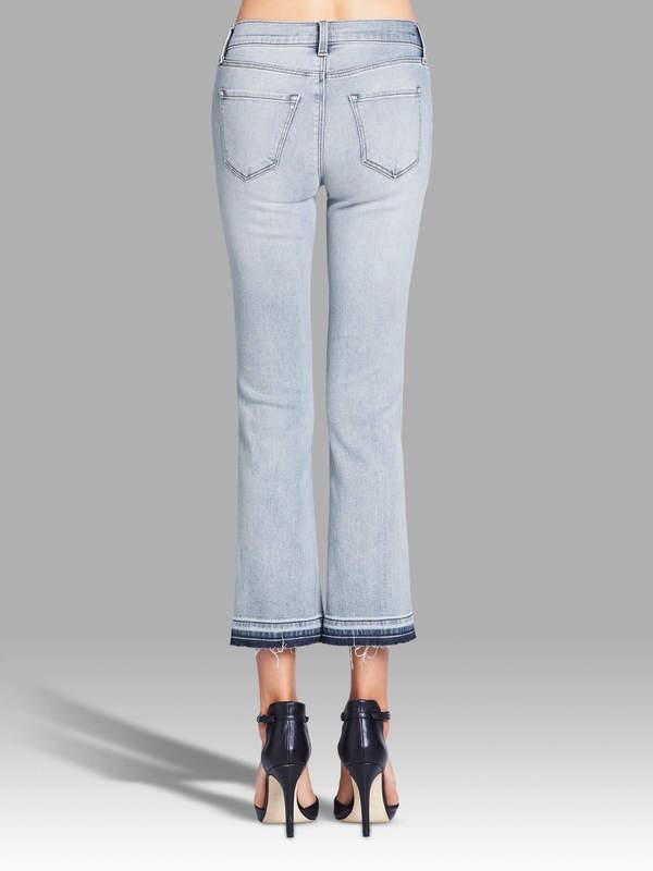 J Brand Selena Mid Rise Crop Boot Jean