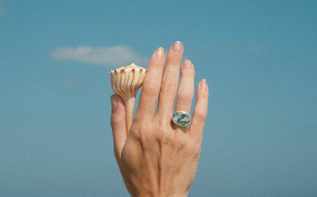 Luiny Abalone Ring No.1