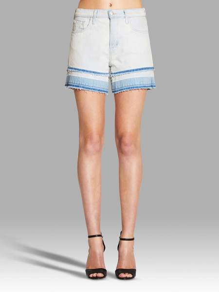 J Brand Gracie High Rise Short - Light Denim