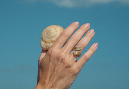 Luiny Waves Ring no.1