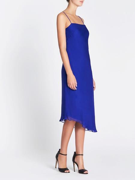 Camilla and Marc Hamilton Slip Dress - Blue