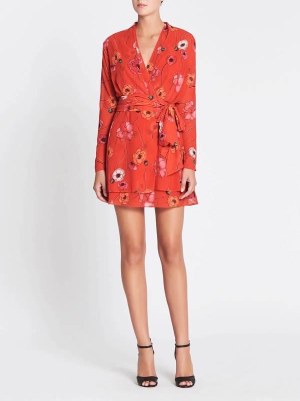 6e6b9a70c9 Camilla and Marc Mona Mini Dress - RED | Garmentory