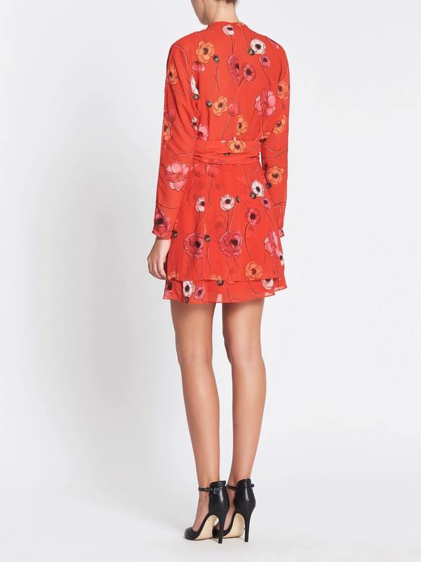 6e6b9a70c9 Camilla and Marc Mona Mini Dress - RED   Garmentory