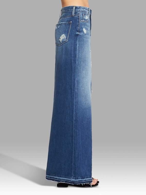 7358b99715 J Brand Trystan Maxi Skirt - Blue | Garmentory