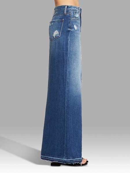 J Brand Trystan Maxi Skirt - Blue