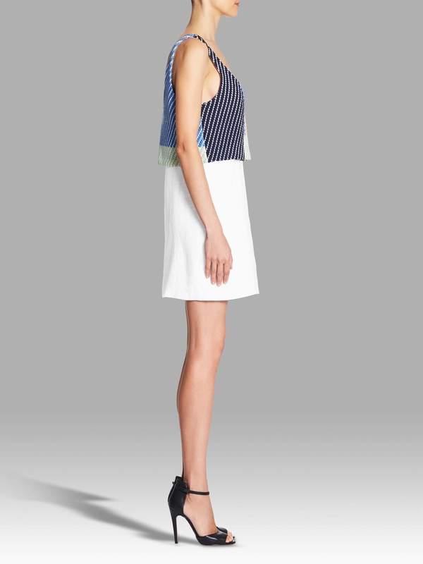 Mara Hoffman Weave Tank Mini Dress