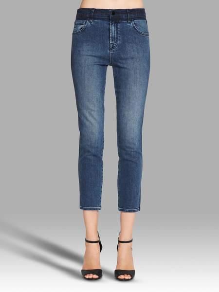 J Brand Ruby Crop Jean - Blue