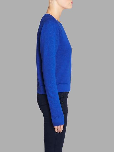MiH Jeans Two Shot Sweatshirt - Cobalt Blue