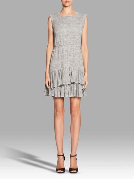 Rebecca Taylor Linen Jersey Dress