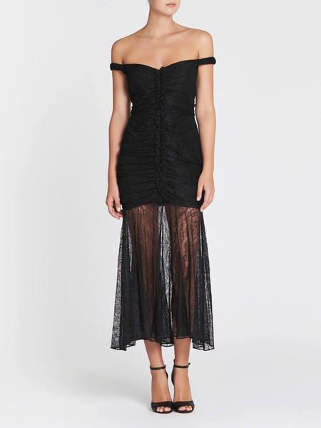 Camilla and Marc Sinclair Midi Dress - BLACK