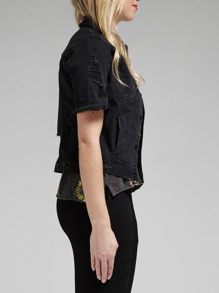 Genetic Denim Blondie Jacket - Black