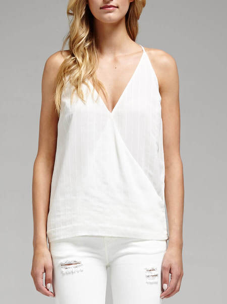 Camilla and Marc Rhythmic Top - WHITE