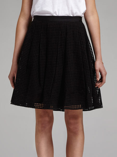 Joie Lissome Broderie Anglais Skirt