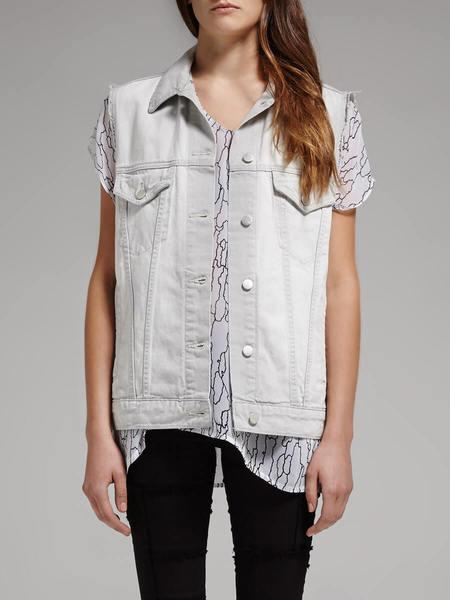 J Brand Finn Rockaway Vest - Grey