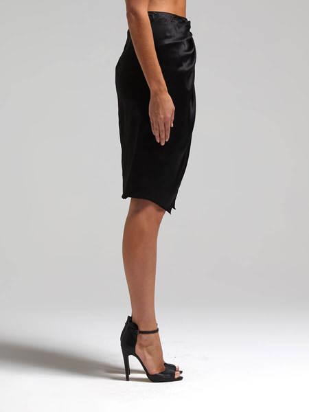 Camilla and Marc Mandolin Skirt - BLACK