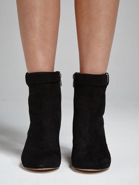 Pour la Victoire Danya Block Heel Boot - Black