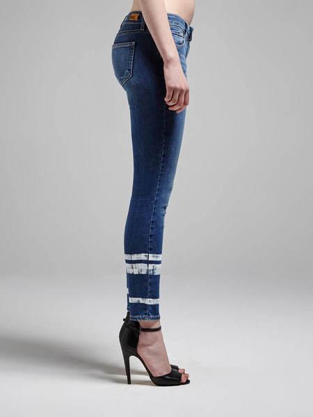 Paige Verdugo Ankle Crop Jean - Stripe