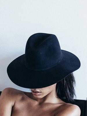 f7aac0d6b74 Janessa Leone Emina Hat - Navy