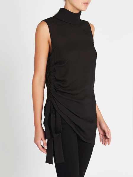 Camilla and Marc Thatcher Top - BLACK