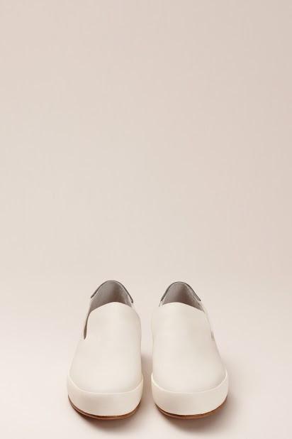 FEIT BiColor White/Black Slipper