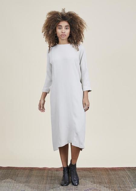 Evam Eva Dolman Pocket Dress - Ecru